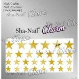 ネイルシール Charm SHA-NAIL チャーム 写ネイル CH-008g Brilliant Stars Gold / ブリリアントスター ゴールド