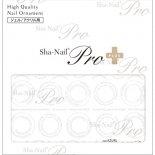 ネイルシール Sha-Nail Pro PLUS 写ネイルPro プラス AYAKO-PWH CIRCLE LIT White / サークルリット ホワイト