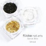 flicka nail arts フリッカ ネイル Spice Bits 1g×3種 Shred