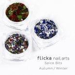 flicka nail arts フリッカ ネイル Spice Bits 1g×3種 Autumn / Winter