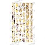 ネイルシール TSUMEKIRA noble ツメキラ ノーブル NO-MAR-102 marble parts white×gold (ジェル専用)