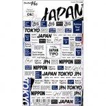 ネイルシール Sha-Nail Pro 写ネイルPro JAT-001 JAPAN TYPO -black- / ジャパンタイポ ブラック