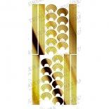 ネイルシール TSUMEKIRA ツメキラ SG-KJR-102 cranberry nailプロデュース2 Design line tape gold (ジェル専用)