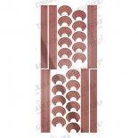 ネイルシール TSUMEKIRA ツメキラ SG-KJR-103 cranberry nailプロデュース2 Design line tape pink (ジェル専用)