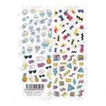 ネイルシール TSUMEKIRA ツメキラ NN-DOG-103 nail D.O.G プロデュース3 80's 90's pattern SET