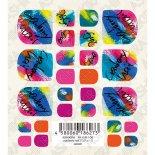 ネイルシール TSUMEKIRA ツメキラ ASHIKIRA アシキラ foot nail AK-KJR-106 cranberry nailプロデュース splash