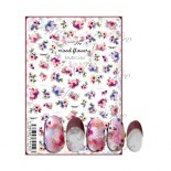 ネイルシール Sha-Nail Pro 写ネイルPro MOF-003 mood flowers -Multi Color- / ムードフラワー -マルチカラー-