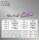 ネイルシール Charm SHA-NAIL チャーム 写ネイル CH-PD02 pd jewelry -silver- / ピーディージュエリー シルバー