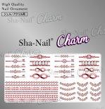 ネイルシール Charm SHA-NAIL チャーム 写ネイル CH-PD03 pd jewelry -pinkgold- / ピーディージュエリー ピンクゴールド
