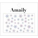 ネイルシール Amaily アメイリー No.3-34 雪の結晶2 カラー