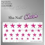 ネイルシール Charm SHA-NAIL チャーム 写ネイル CH-019r Romantic Star -ShineRed- / ロマンティックスター シャインレッド