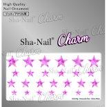 ネイルシール Charm SHA-NAIL チャーム 写ネイル CH-019p Romantic Star -ShinePink- / ロマンティックスター シャインピンク