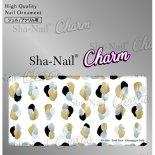 ネイルシール Charm SHA-NAIL チャーム 写ネイル CH-020c Pond Parts -Champagne Gold- / ポンドパーツ シャンパンゴールド