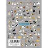 ネイルシール TSUMEKIRA ツメキラ NN-FLI-105 flicka nail arts プロデュース2 flicka animals