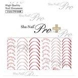ネイルシール Sha-Nail Pro PLUS 写ネイルPro プラス RUMI-PSF02 smile font -Whiskey Brown- / スマイルフォント -ウイスキーブラウン-