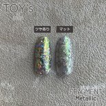 TOY's×INITY フラグメント メタリック 0.3g T-FMM4 イエロー