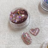 +D D.nail グリッターホロ 1g flake pink