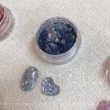 +D D.nail グリッターホロ 1g flake blue
