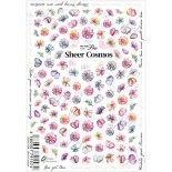 ネイルシール Sha-Nail Pro 写ネイルPro RUMI-008 Sheer Cosmos / シアーコスモス