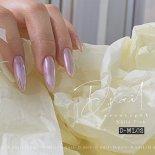 +D D.nail オーロラミラーパウダー 0.5g ホワイトピンク