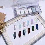 +D D.nail ミラーパウダー パレット 6色セット オーロラ