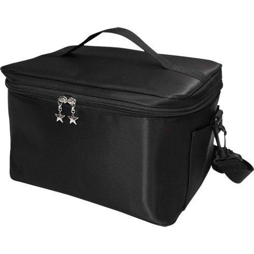 YUMI ユミクリエイション バニティーバッグ ネイルバッグ コスメバッグ Lサイズ ブラック