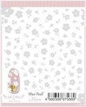 ネイルシール Sha-Nail More 写ネイルモア MFLT-002 Floret (Blanc)