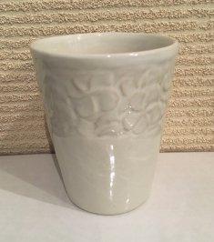 TW-06-W セラミックグラス  カップ プルメリア ホワイト