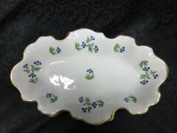 〇リモージュ Porcelain du Lys Roya/ LIMOGES AUTHENTIQUE トレイ【Limoges】