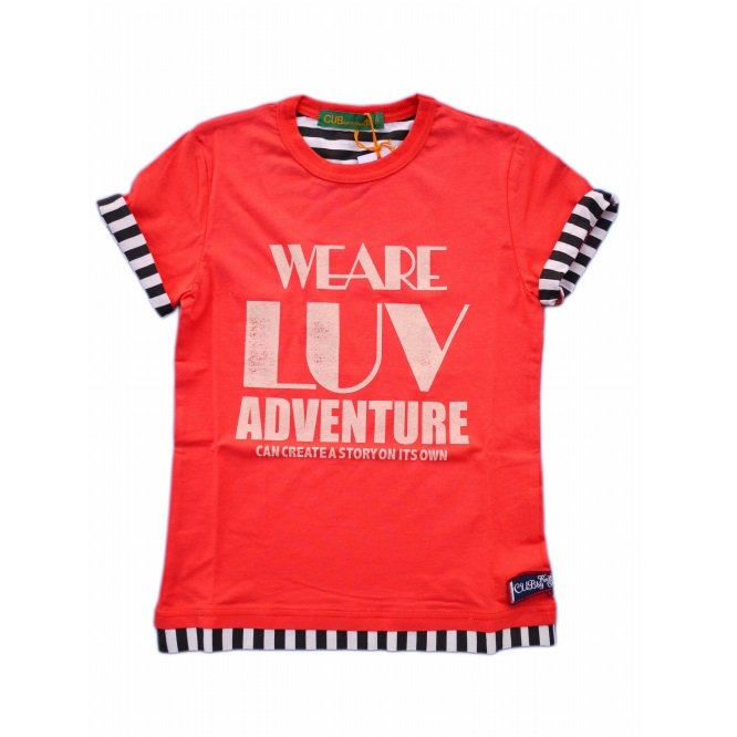 <img class='new_mark_img1' src='//img.shop-pro.jp/img/new/icons20.gif' style='border:none;display:inline;margin:0px;padding:0px;width:auto;' />【CUB by kriffmayer】I Love-Tシャツ|レッド