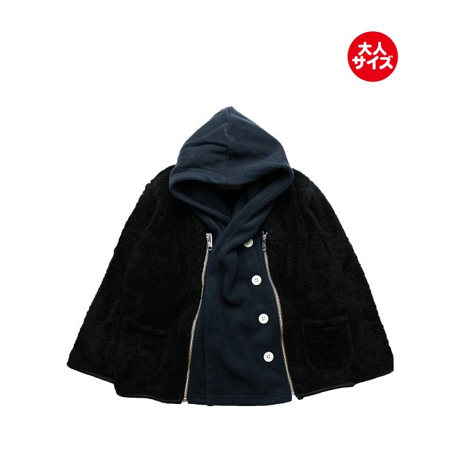 【nunuforme】 トイプーブルゾン (ブラック)