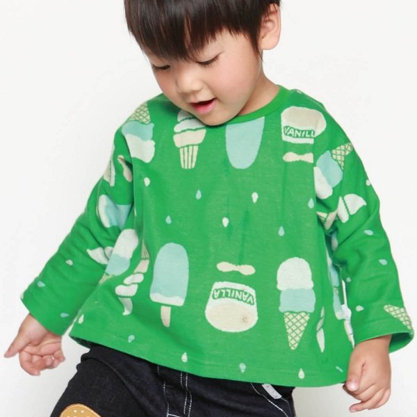 【MLP】 banzai ロングTシャツ (グリーン) 90-150cm