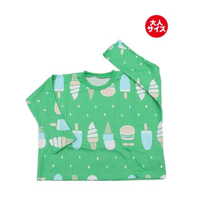 【MLP】 banzai ロングTシャツ (グリーン) レディース