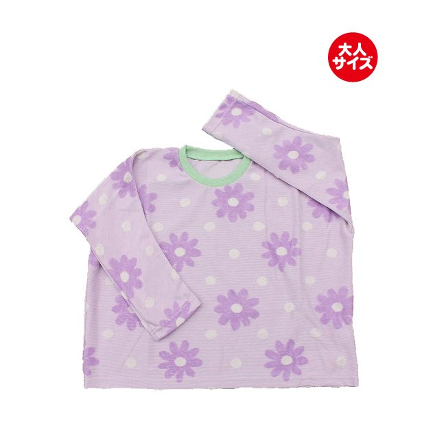 【MLP】 banzai ロングTシャツ (ムラサキ) レディース