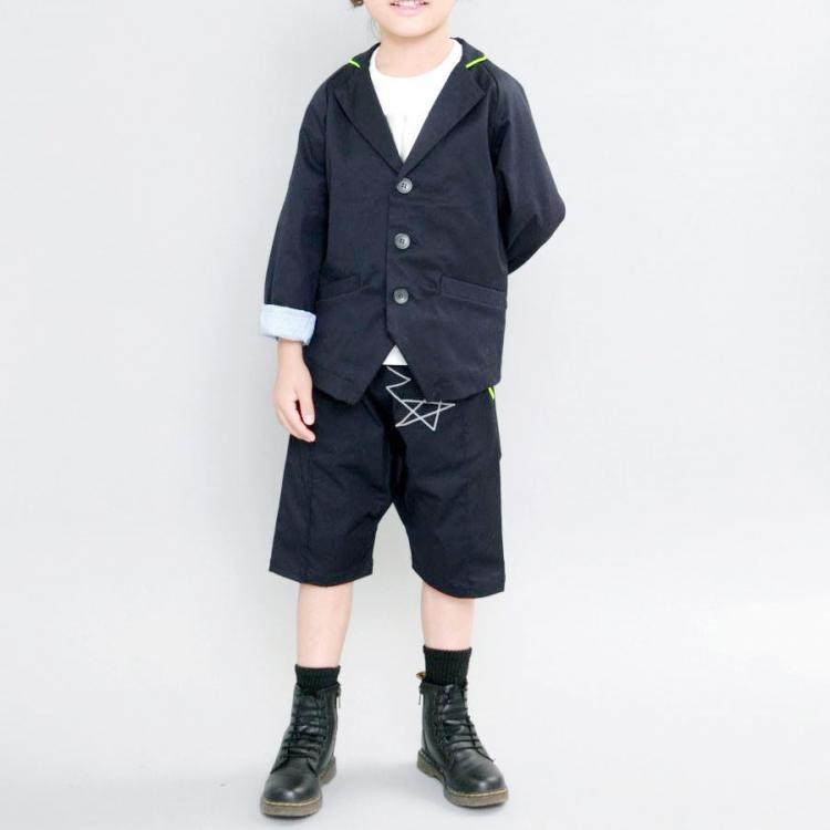 【MLP】モルスーツセット|ブラック|105-135cm