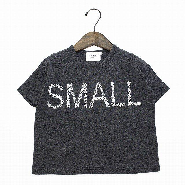 【nunuforme】 スモールTシャツ|チャコール