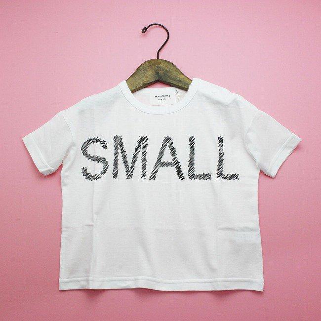 【nunuforme】 スモールTシャツ|ホワイト