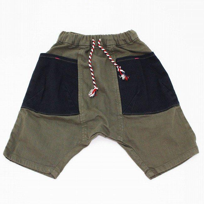 【MoL】 BIG-ROBO サルエルパンツ|ミリタリーグリーン