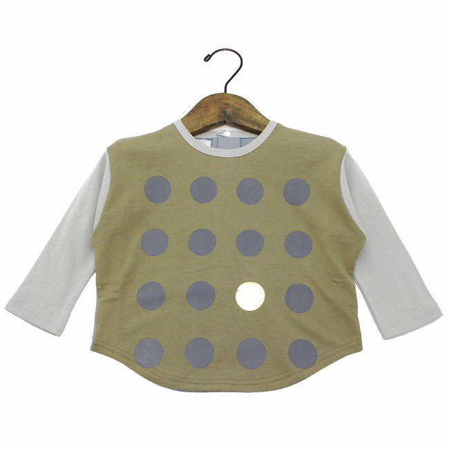 【munch】 〇〇〇pt ドルマンTシャツ|カーキ|80-110cm