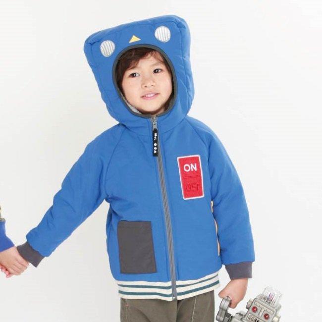 【MoL】変身ロボジャケット|ブルー|90-140cm