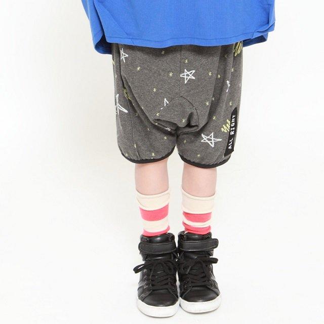 【MoL】スターライトパンツ|チャコール|90-120cm