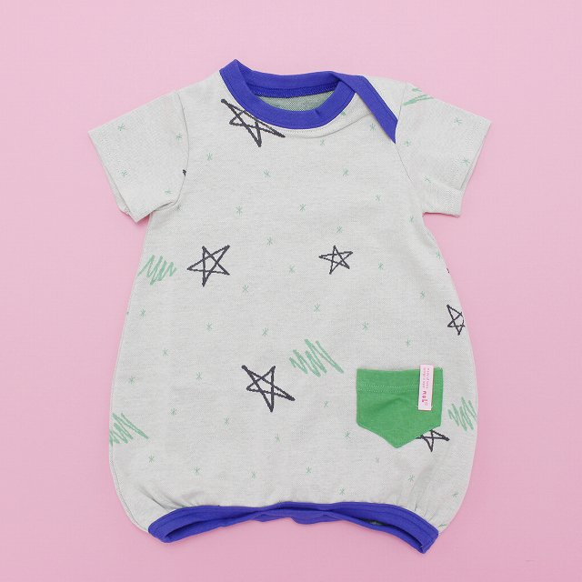 【MoL】スターライトTシャツロンパース|オフ