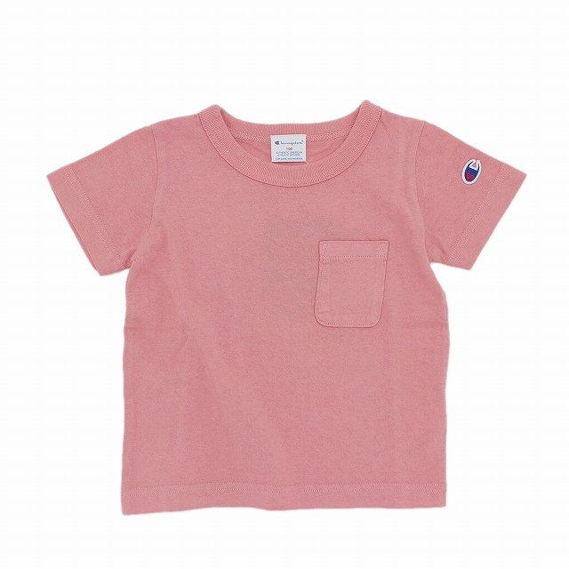 【Champion】DYE Tシャツ|ピンク|90-140cm