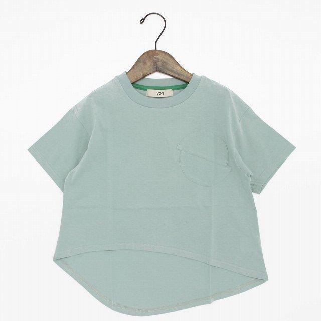 <img class='new_mark_img1' src='https://img.shop-pro.jp/img/new/icons20.gif' style='border:none;display:inline;margin:0px;padding:0px;width:auto;' />【VON】サークルTシャツ|サックス|90-135cm