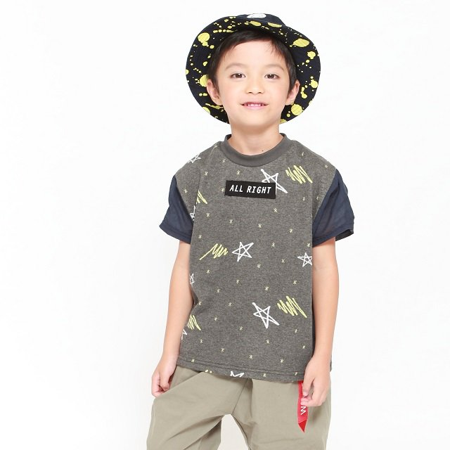 【MoL】スターライトTシャツ チャコール
