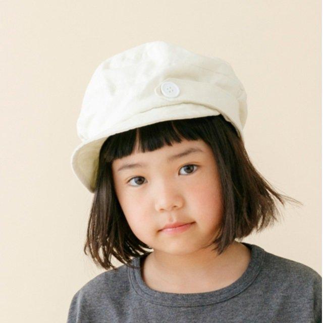 【nunuforme】キャスケット|エクリュ|54cm