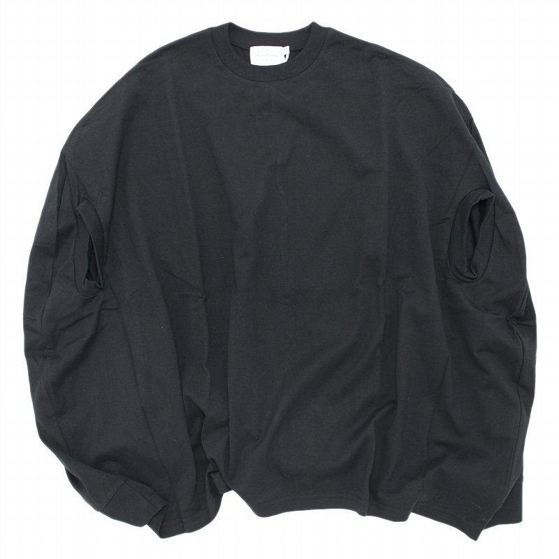 【nunuforme】カーブワンピース|ブラック|105-145cm