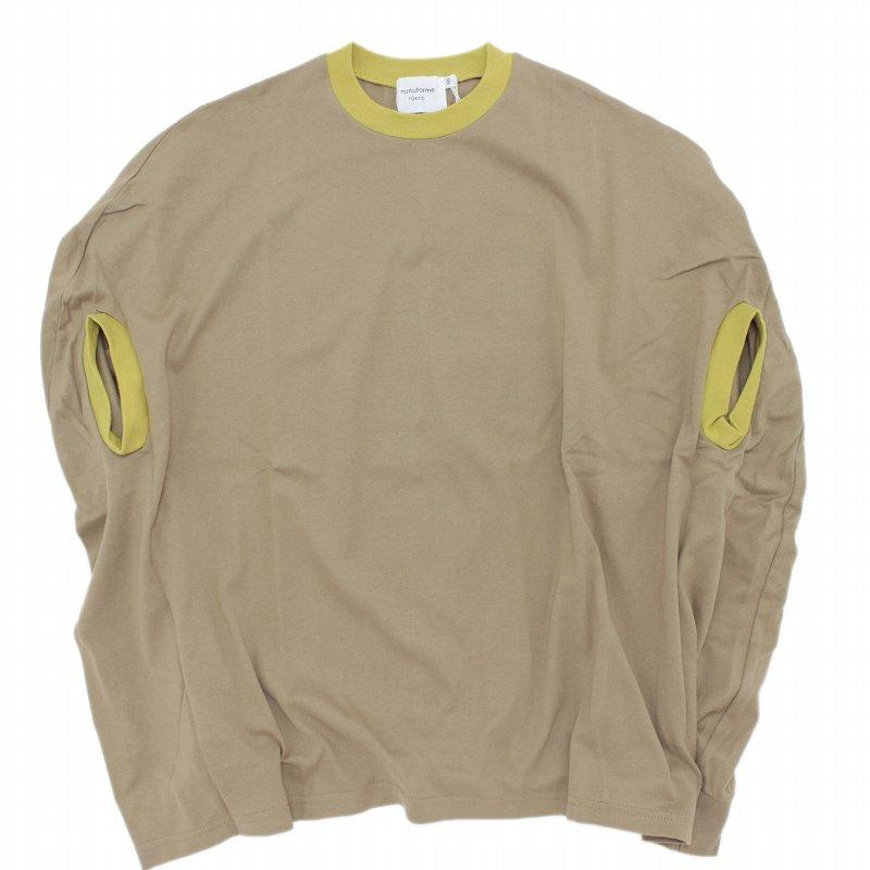 【nunuforme】カーブワンピース|ブラウン|105-145cm