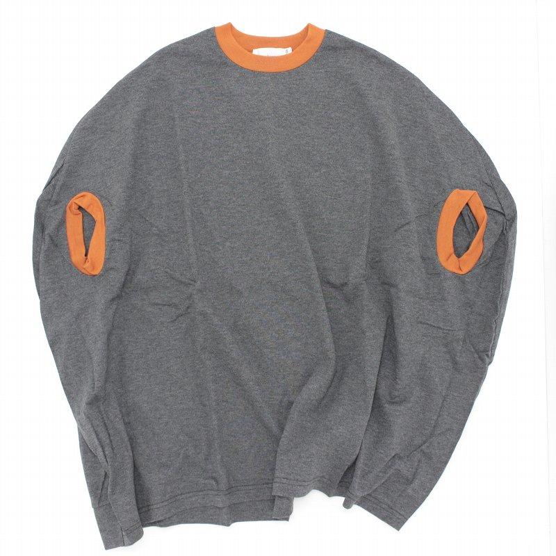 【nunuforme】カーブワンピース|杢チャコール|105-145cm