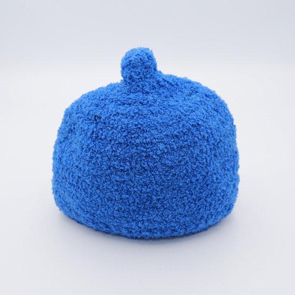 【shapox】どんぐりワッチ帽|ブルー
